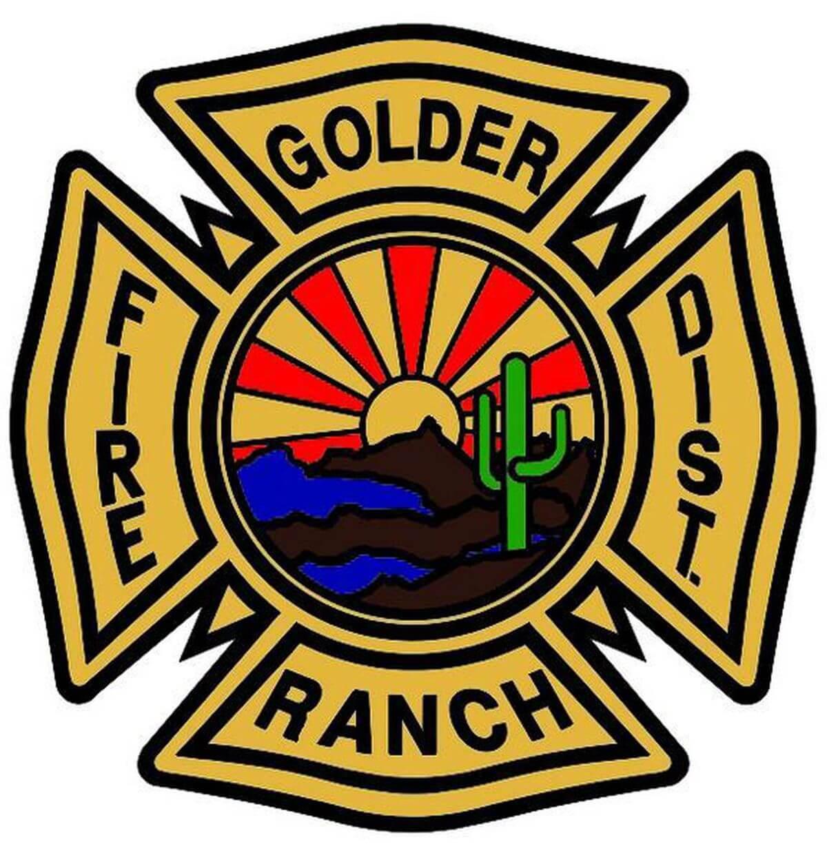 Golder Ranch Fire Logo